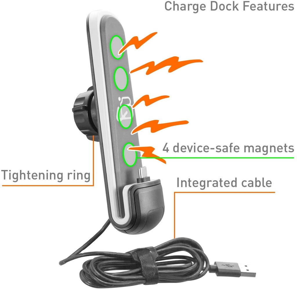 iBOLT ChargeDock microUSB Ultimate Magnetic Dock/Mount