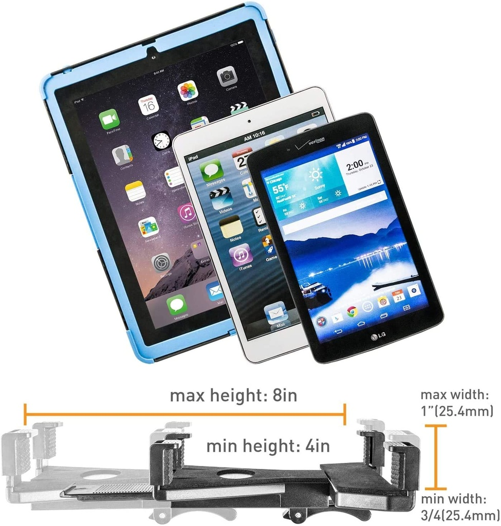 iBOLT Stream-Cast Dual Phone and Tablet Stand