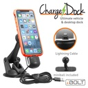 [IBA-34100] iBOLT Apple MFI Certified ChargeDock- Magnetic Mount