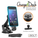 [IBC-34300] iBOLT ChargeDock USB-C Ultimate Magnetic Mount/Holder