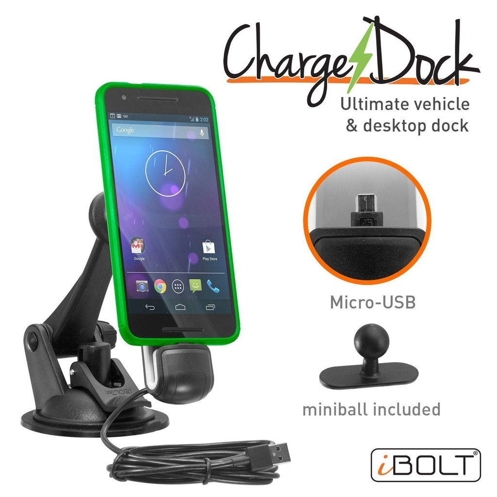 iBOLT ChargeDock microUSB Dock/Mount