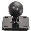 [22168] iBOLT 25mm Ball to AMPS Metal