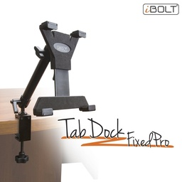 [IBBZ-33767] iBOLT TabDock FixedPro Clamp- Heavy Duty Metal C-Clamp Mount