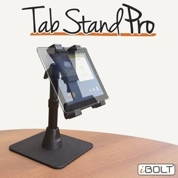 [IBBZ-33769] iBOLT TabStandPro - Heavy Duty Metal Weighted Base Table Mount